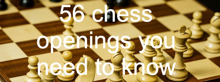 56 openings you need to know how to play. Gold collection